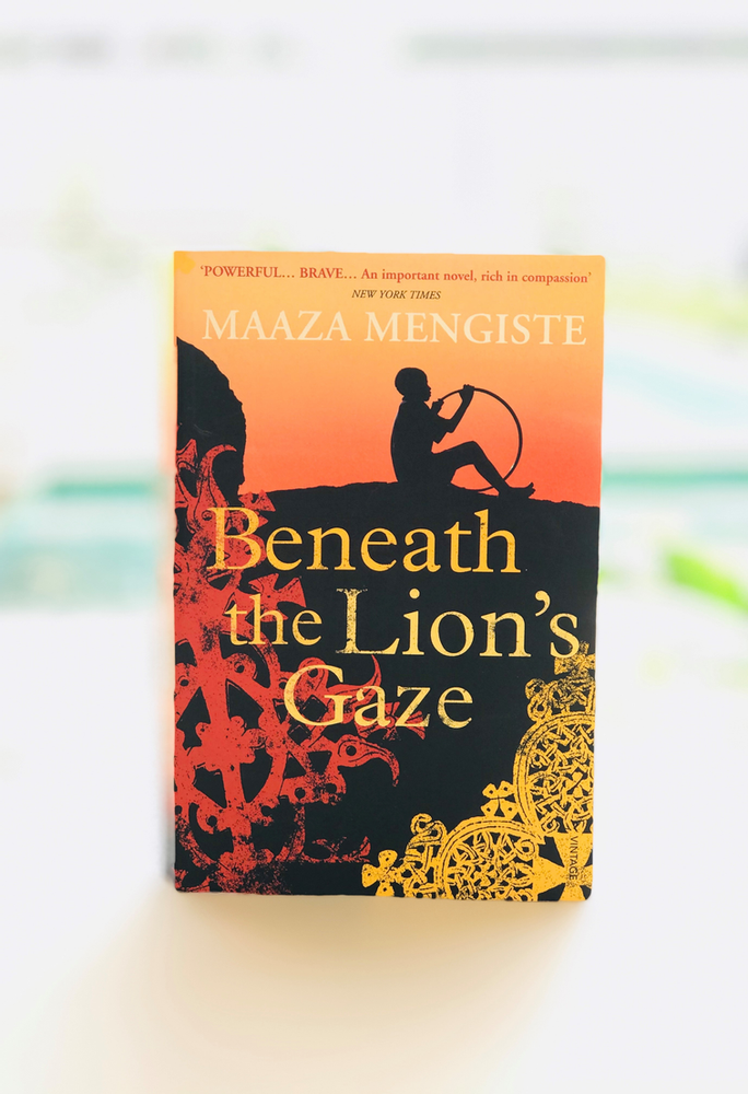 Maaza Mengiste's debut novel, Beneath the Lion's Gaze. Credit: Somanami.co.ke.