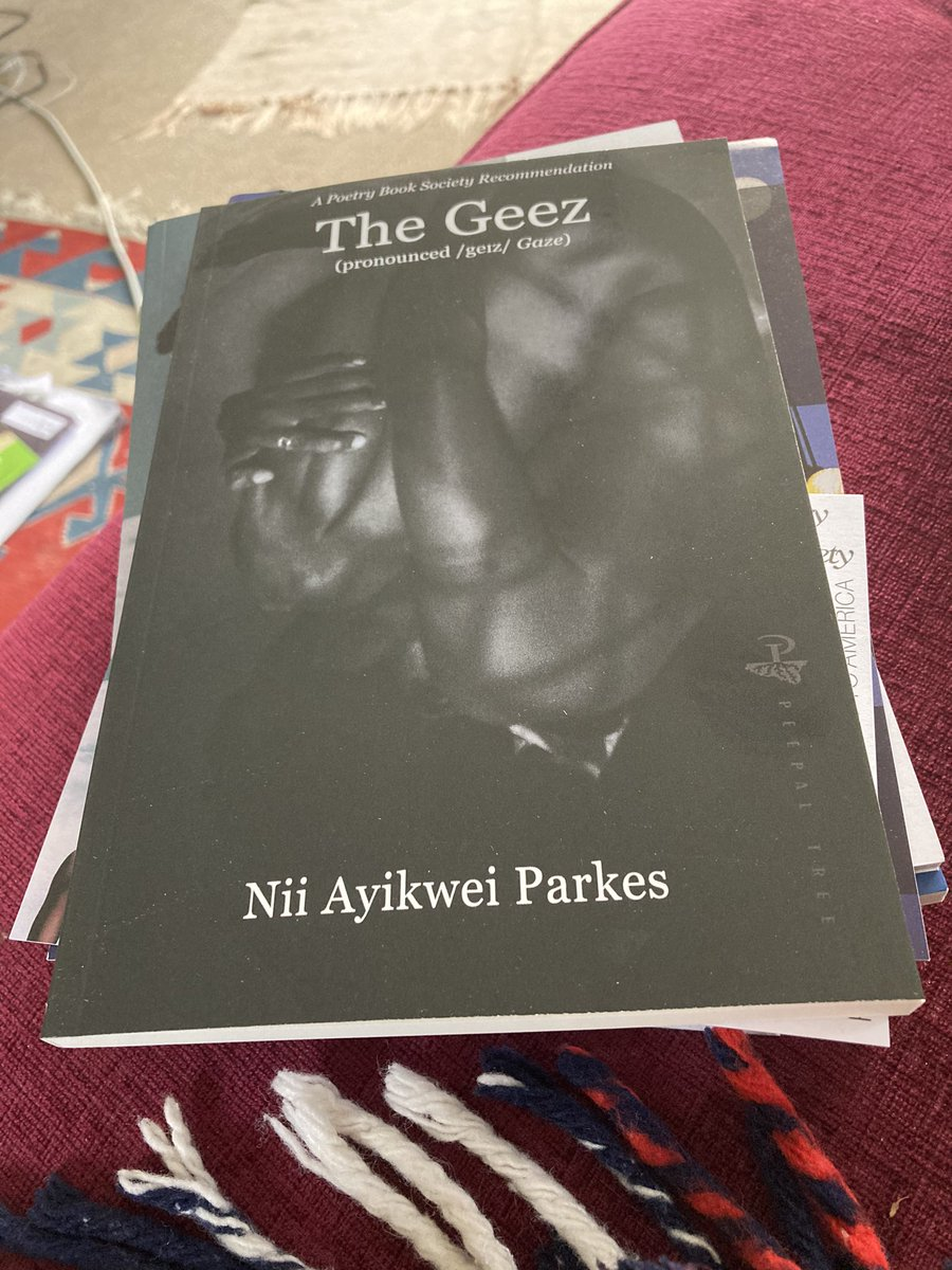 Nii Ayikwei Parkes, The Geez. Credit to @BlueBirdTail on Twitter