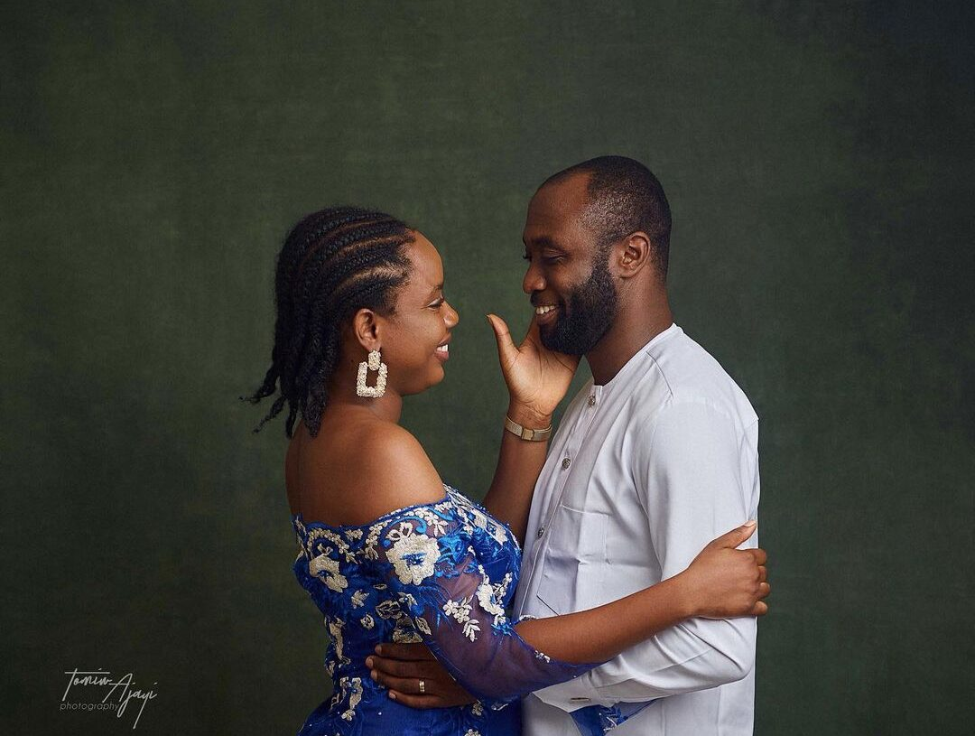 Ayobami Adebayo and Emmanuel Iduma. From @emmaiduma on Instagram.