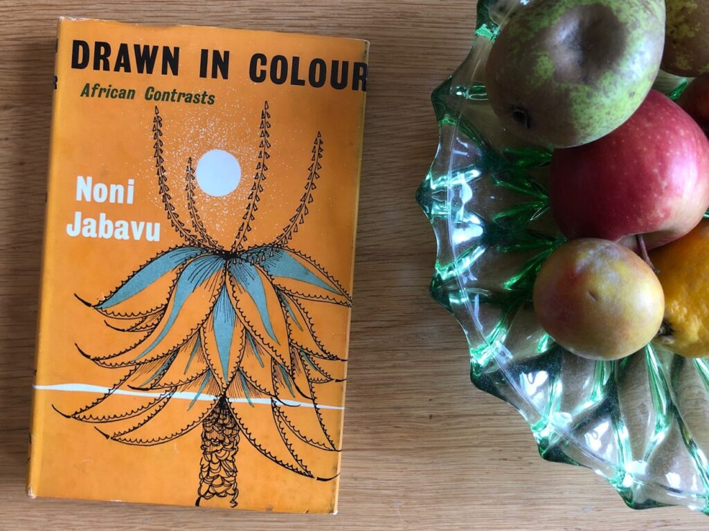 Drawn in Colour by Noni Jabavu. Credit: The Paris Review.