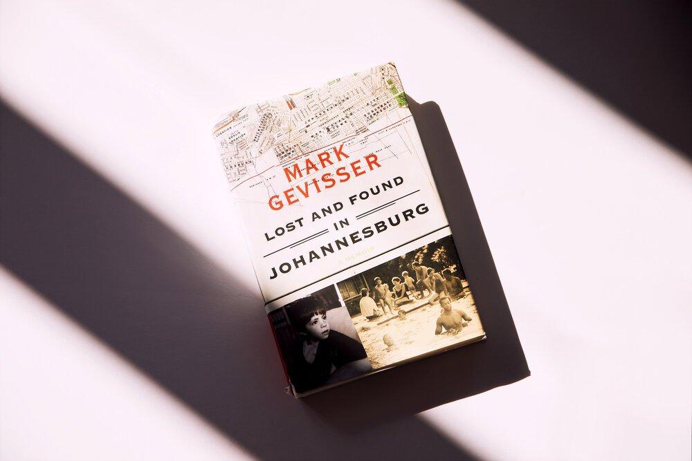 Mark Gevisser's memoir Lost and Found in Johannesburg. Credit: markgevisser.com.
