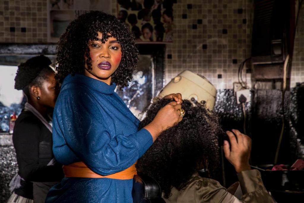 Mercy Aigbe as Violet. Credit: KapHubNews.