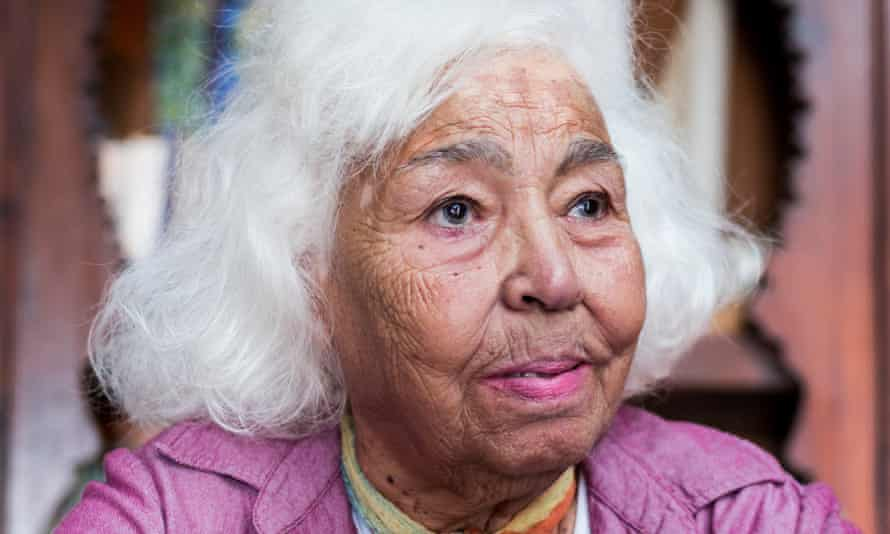 Nawal El Saadawi. Photo: David Degner/Getty Images. From the Guardian.