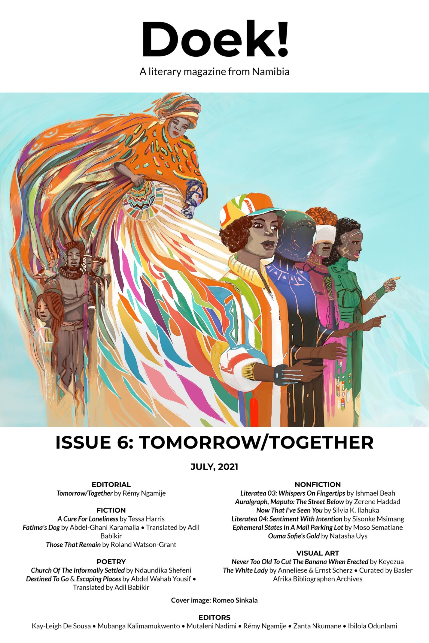 Doek! Issue 6 cover.