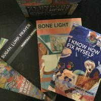 Chapbooks from African Poetry Book Fund's box set Nne. Credit: Kimberly Ann Southwick. From blog.pshares.org.