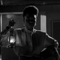 Eniola Akinbo (Niyola) as Tolani Ajao in the forthcoming film adaptation of Swallow. Credit: KapHubNews.