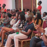 A cross section of the audience at the Quramo Festival of Words 2019. Credit: Quramo.