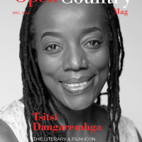 Tsitsi Dangarembga is on the December 2020 cover of Open Country Mag.